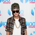 Justin Bieber attends the Y100's Jingle Ball 2012 at the BB&T Center on December 8, 2012 in Miami