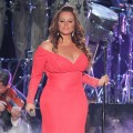 Jenni Rivera performs during Billboard Latin Music Awards 2012 at Bank United Center on April 26, 2012 in Miami, Florida