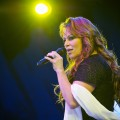 Jenni Rivera performs at 2010 Lilith Fair at Cricket Wireless Amphitheatre on July 7, 2010 in San Diego