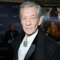 Ian McKellen attends 'The Hobbit: An Unexpected Journey' New York premiere benefiting AFI at Ziegfeld Theater on December 6, 2012 in New York City