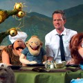 Neil Patrick Harris serves the Henson Alternative puppets in a scene from 'Neil's Puppet Dreams' on Nerdist Channel on YouTube