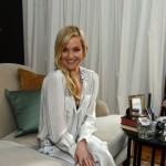 An all-smiles Kate Hudson poses during an Almay makeup Launch event at The NoMad Hotel on December 3, 2012 in New York City