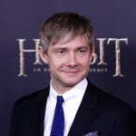 Martin Freeman attends &#8216;The Hobbit: An Unexpected Journey&#8217; premiere at the Ziegfeld Theater, New York City, on December 6, 2012