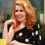 Paloma Faith stops by Access Hollywood Live on December 10, 2012