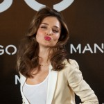 Miranda Kerr is announced as the new Face of Mango at the Villamagna Hotel on December 11, 2012 in Madrid