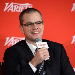 Matt Damon speaks at the 2012 Variety Screening Series of &#8216;Promised Land&#8217; on December 10, 2012 in Los Angeles