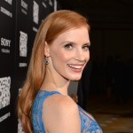Jessica Chastain dazzles in Harry Winston jewels at the Los Angeles premiere of 'Zero Dark Thirty,' Los Angeles, Dec. 10, 2012