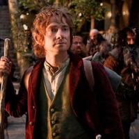 Martin Freeman as Bilbo Baggins in 'The Hobbit: An Unexpected Journey'