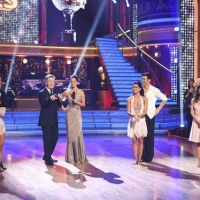 The finalists of &#8216;Dancing with the Stars: All-Stars,&#8217; with show co-hosts Tom Bergeron and Brooke Burke Charvet, Nov. 26, 2012