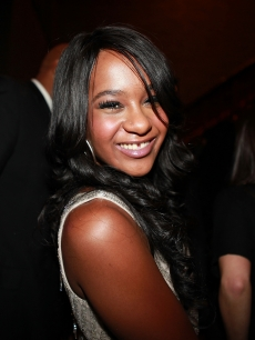  Bobbi Kristina Brown attends &#8216;The Houstons: On Our Own&#8217; series premiere party at the Tribeca Grand Hotel on October 22, 2012 in New York City