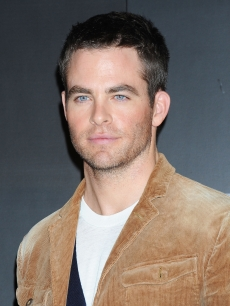 Chris Pine attends the &#8216;Star Trek Into Darkness&#8217; Special Footage Presentation at 109 Cinemas Kiba in Tokyo on December 4, 2012