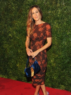 Sarah Jessica Parker attends HBO's In Vogue: The Editor's Eye screening at Metropolitan Museum of Art in New York City on December 4, 2012