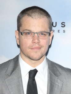 Matt Damon arrives at the Los Angeles premiere of 'Promised Land' held at Directors Guild Of America in Los Angeles on December 6, 2012