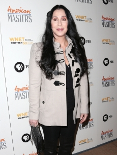 "Cher attends the premiere of ""American Masters: Inventing David Geffen"" on November 13, 2012"