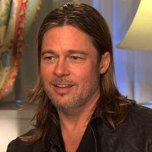 Brad Pitt Reveals His Family's Santa Claus Dilemma