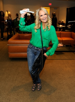 Kristin Chenoweth is spotted at the Backstage Creations Celebrity Retreat at 2012 American Country Awards in Las Vegas on December 9, 2012