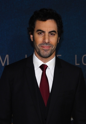 Sacha Baron Cohen attends the 'Les Miserables' New York premiere at Ziegfeld Theatre on December 10, 2012