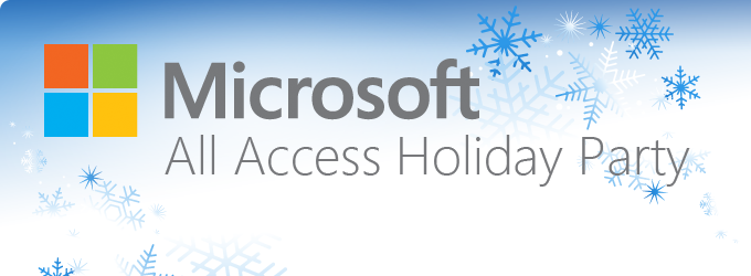 Microsoft All Access Holiday Party