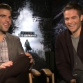 Chris Pine & Zachary Quinto: Star Trek Into Darkness 'Much Bigger Than The First One'