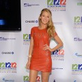 Blake Lively is spotted at the 12-12-12 concert at Madison Square Garden in New York City on December 12, 2012