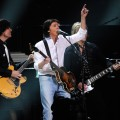 Sir Paul McCartney performs at the '12-12-12' concert at Madison Square Garden on December 12, 2012 in New York City
