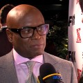 L.A. Reid talks with Access Hollywood&#8217;s Shaun Robinson