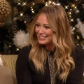 Hilary Duff on Access Hollywood Live, December 14, 2012