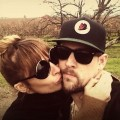 Nicole Richie and Joel Madden