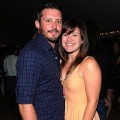 Brandon Blackstock and Kelly Clarkson in Nashville on May 31, 2012