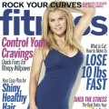 Alison Sweeney on cover of Fitness magazine (Jan. 2013)