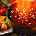 The Melting Pot's Flaming Turtle Fondue