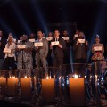 'The Voice' choir, Dec. 17, 2012