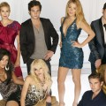 The cast of The CW's 'Gossip Girl'