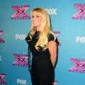 Britney Spears arrives at Fox's 'The X Factor' Season Finale Night 1 at CBS Televison City in Los Angeles on December 19, 2012