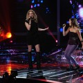 LeAnn Rimes and Carly Rose Sonenclar perform on 'The X Factor,' dec. 19, 2012