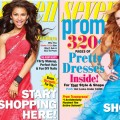 Zendaya and Bella on the covers of Seventeen Prom