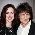 Sally Humphreys and Ronnie Wood attend The Cinema Society With Chrysler & Bally Host The Premiere Of 'Stand Up Guys' at The Museum of Modern Art on December 9, 2012 in New York City