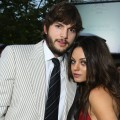 Ashton Kutcher and Mila Kunis attend the 7th Annual Chrysalis Butterfly Ball at a private residence on May 31, 2008 in Los Angeles