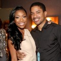 Brandy and producer Ryan Press attend 'VH1 Divas' 2012 at The Shrine Auditorium on December 16, 2012 in Los Angeles