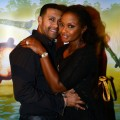 'Real Housewives of Atlanta' cast member Phaedra Parks (right) and Apollo Nida attend Cirque du Soleil TOTEM Premiere at Atlantic Station on October 26, 2012 in Atlanta, Georgia