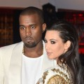 Kanye West and Kim Kardashian attend the 'Cruel Summer' Premiere during the 65th Annual Cannes Film Festival at Palm Beach on May 23, 2012 in Cannes, France