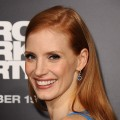 Jessica Chastain attends the premiere of 'Zero Dark Thirty' at the Dolby Theatre on December 10, 2012 in Hollywood