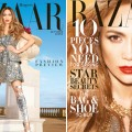 Jennifer Lopez on the covers of Harper's Bazaar, February 2013 (subscriber and newsstand)