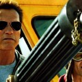 Arnold Schwarzenegger and Johnny Knoxville in 'The Last Stand'