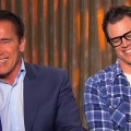 Arnold Schwarzenegger & Johnny Knoxville Take Their Last Stand