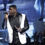 Trevin Hunte performs on 'The Voice'
