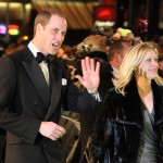 Prince William, Duke of Cambridge and is accompanied by Tessa Street as he attends the Royal Film Performance of 'The Hobbit: An Unexpected Journey' at Odeon Leicester Square on December 12, 2012 in London