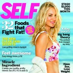 Kaley Cuoco on the cover of SELF Magazine (Jan. 2013)