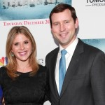 Jenna Bush Hager and husband Henry Chase Hager attend 'A White House Christmas: First Families Remember' Premiere Party at Tenjune, New York City, on December 12, 2012