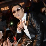 PSY is seen at PURE Nightclub on December 29, 2012 in Las Vegas